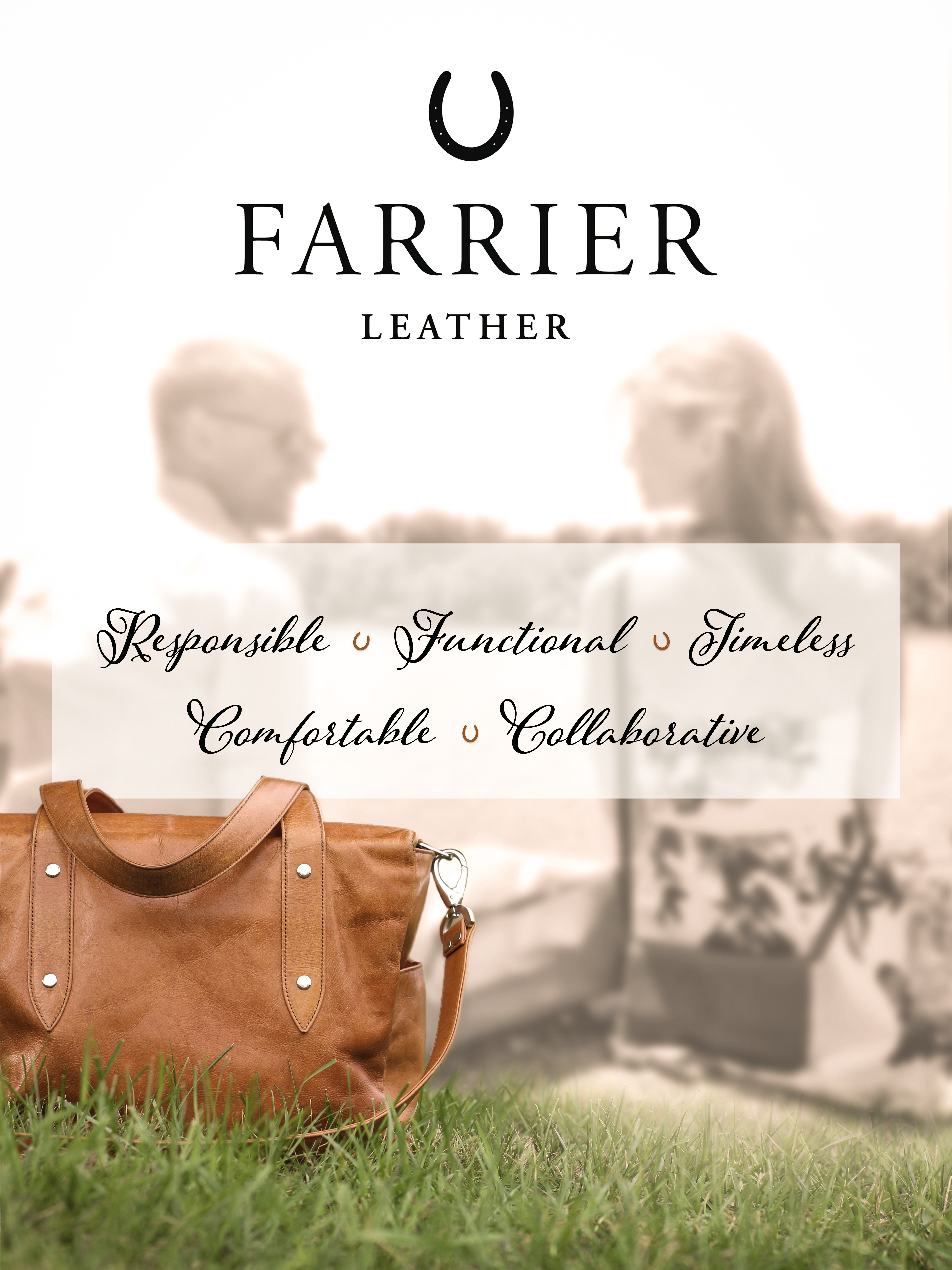 Farrier Leather Values Poster