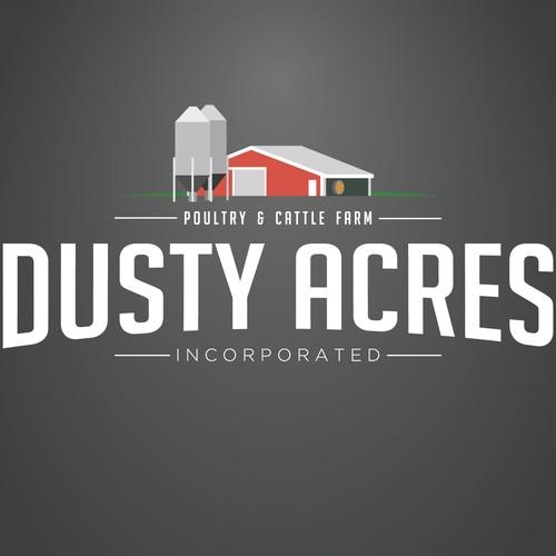 Dusty Acres Farm logo
