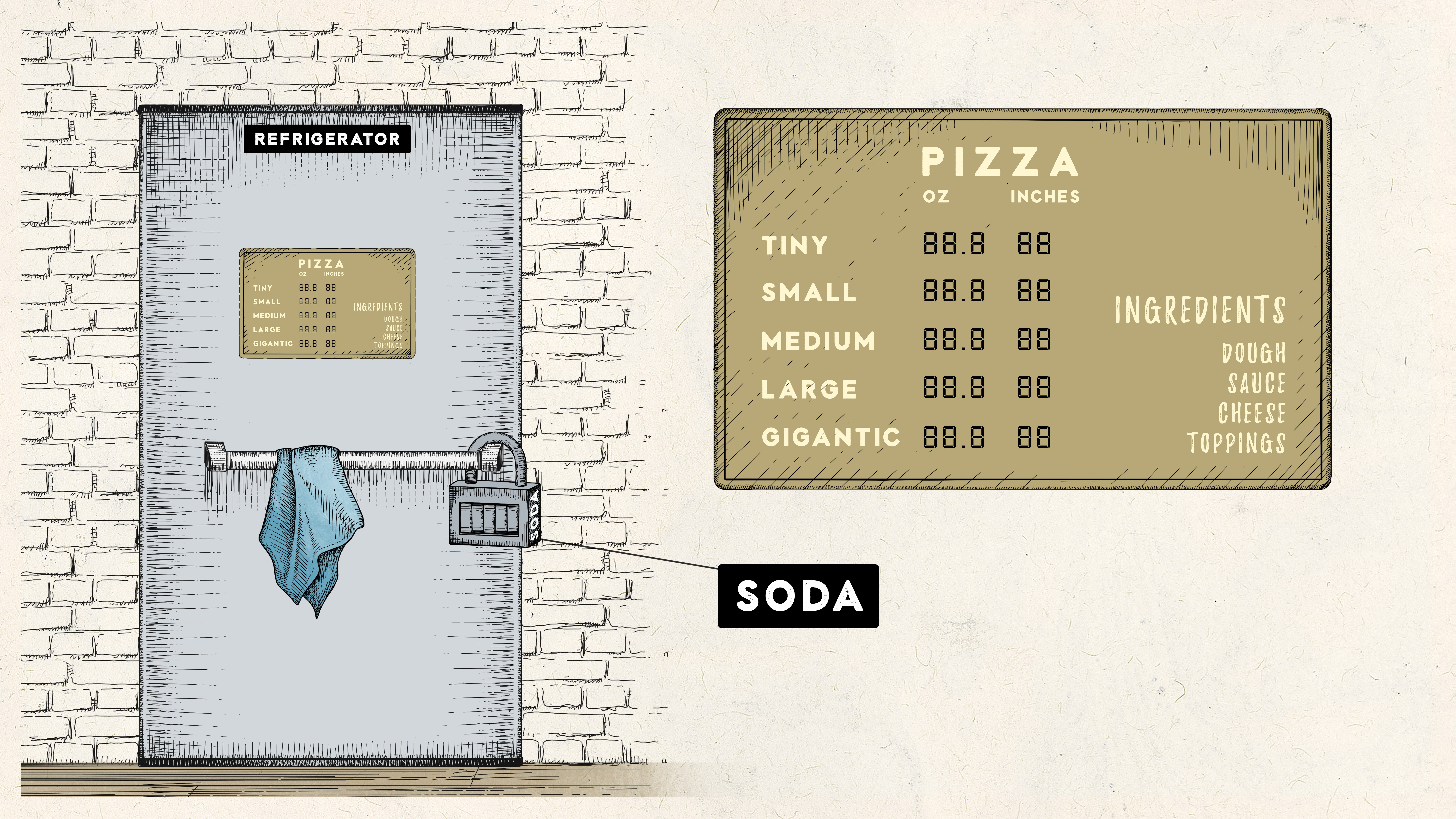 Re-do art for our game Pizza Makes Anything Possible