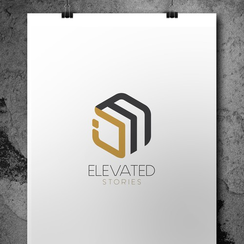 Concept Logo ELEVATED Stories