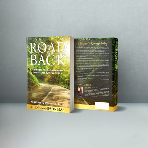 Cover for book on navigating life's unexpected twists & turns