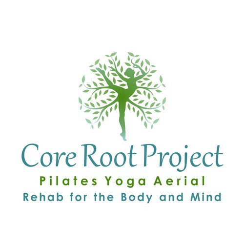 Yoga/Pilates Studio Logo