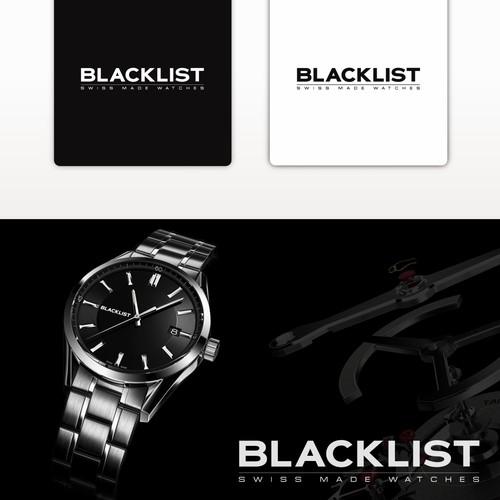 Watch brand logo wordmark