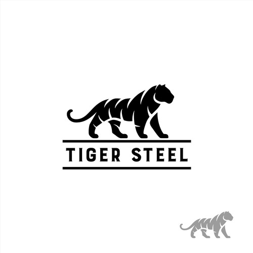 logo concept for Tiger Steel