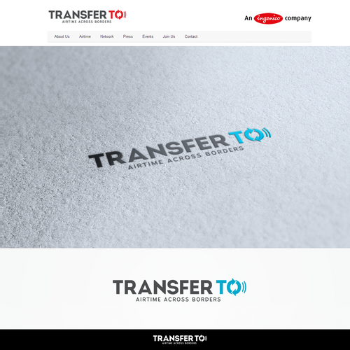 Help TransferTo with a new logo