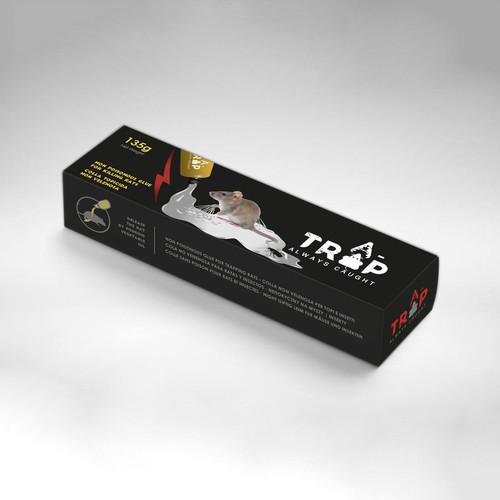 glue tube package