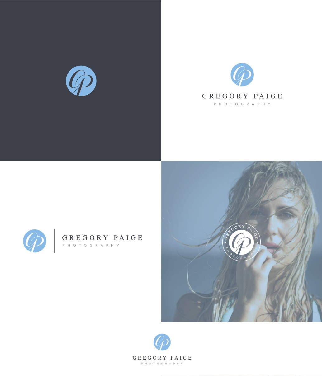 Design a clean, sophisticated logo for a portrait/fashion photographer.