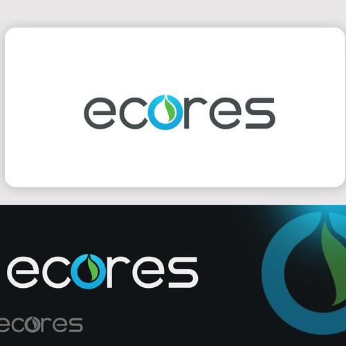 Créer un logo pour la société ECORES