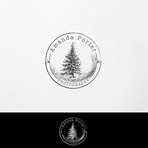 Artistic handdrawn logo
