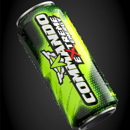 Energy Drink Commando