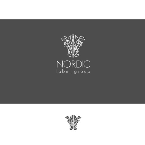 Logo for label company Nordic