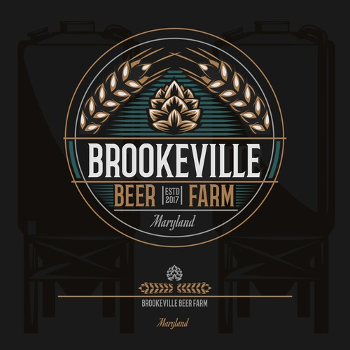 Farm brewery logo.