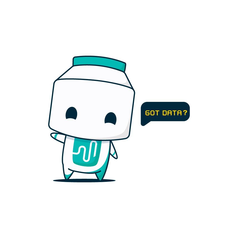 Mascot design for AI fintech startup