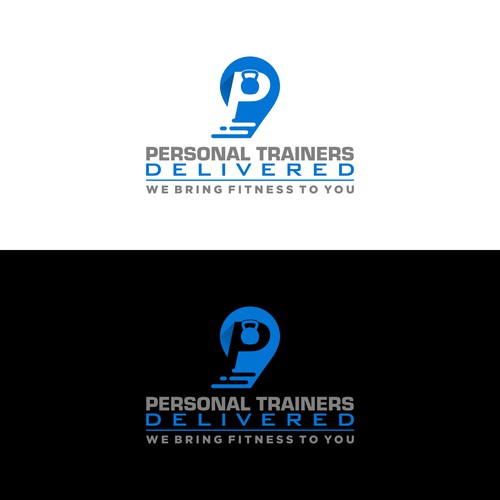 logo for delivery fitness trainer