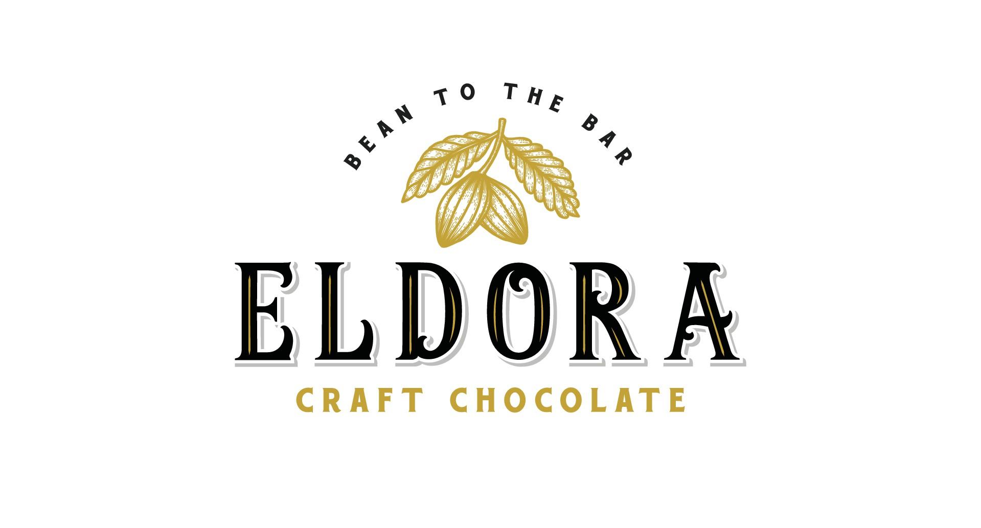 Design a modern/classic logo for Eldora Craft Chocolate
