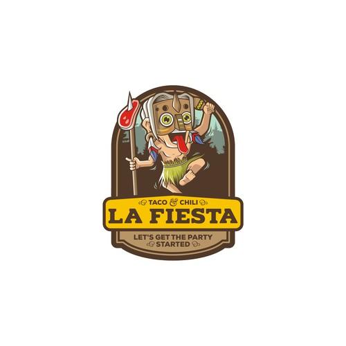 Logo Concept for La Fiesta