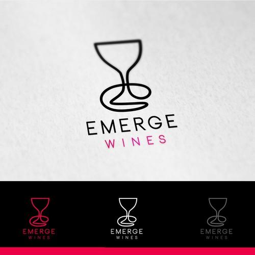logo for a wine club