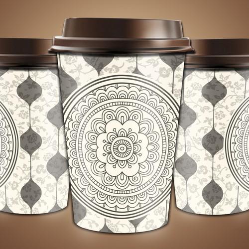 Artwork Design for Paper Cups