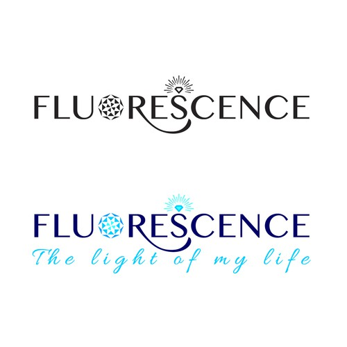 Logo design for FLUORESCENCE