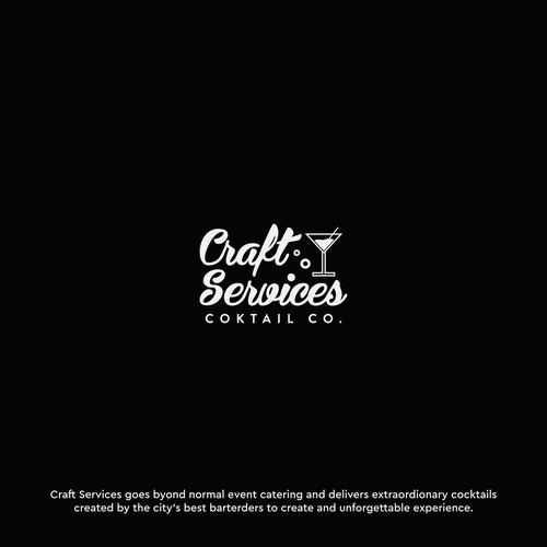 Desain for Craft Cocktail Catering Company