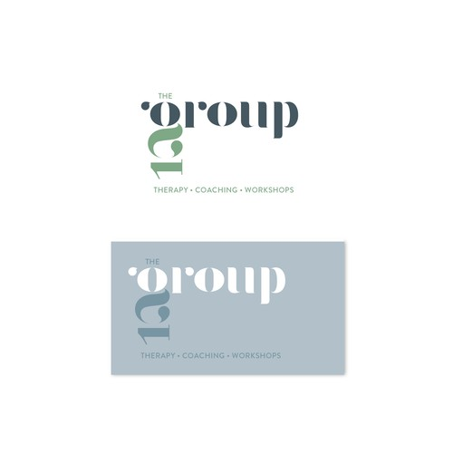 """""""the 1a group""""psychotherapy group practice logo"""