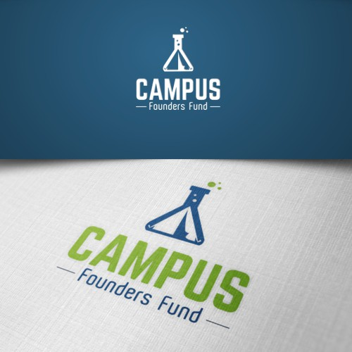 Create a logo for an innovative student-run investment fund
