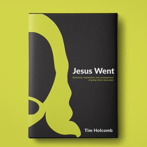 Book cover for Jesus themed book.