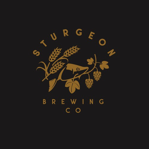 Modern logo for brewery