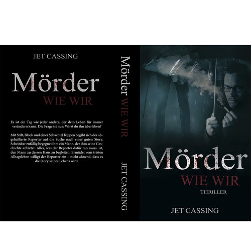 Crime/mystery/thriller Book Design