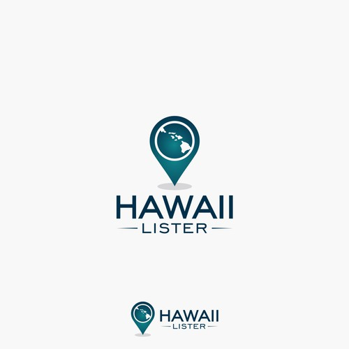 logo concept for HAWAII LISTER