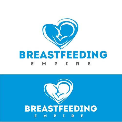 Logo COncept for breastfeeding empire