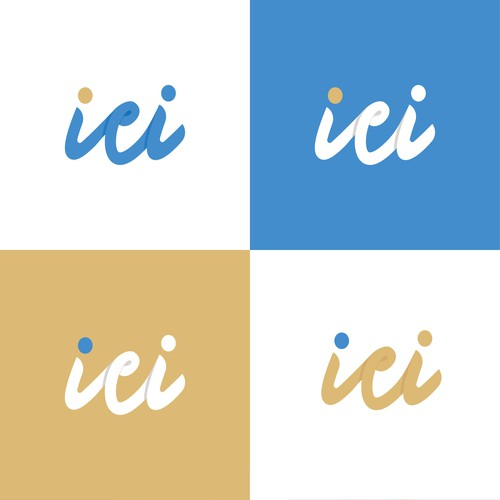 Logo concept for ici