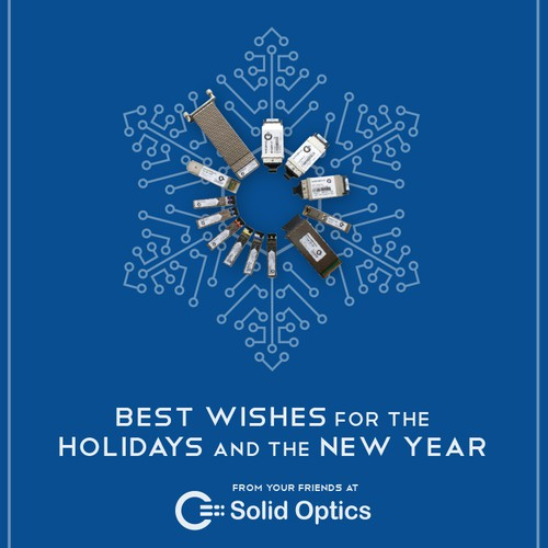 Help us design a holiday e-card for our new business!