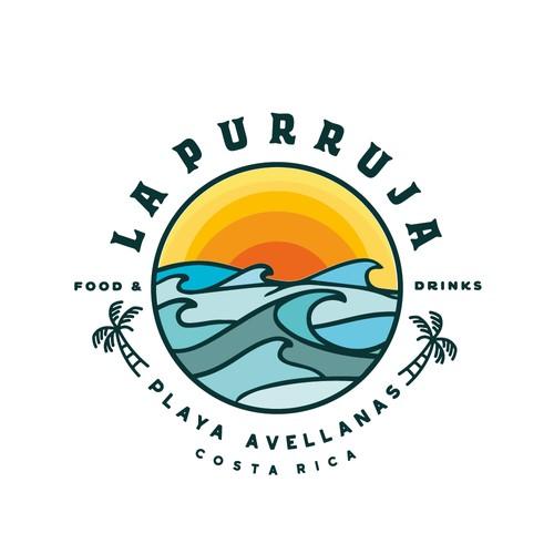 Logo & brand for a beach bar/restaurant