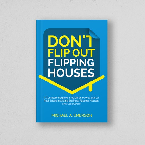 Simple book cover for Michael A. Emerson