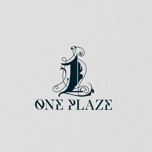 Unique logo for One Plaze
