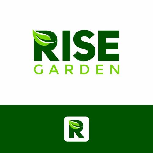 Logo concept for Rise Garden