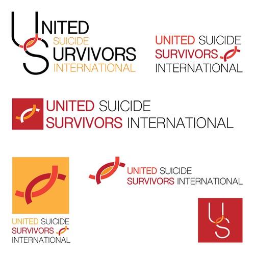 Logo for United Suicide Survivors International