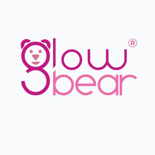 Logo concept of Glowbear