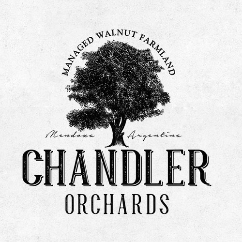 Logo for Chandler Orcards - Walnut Farmland