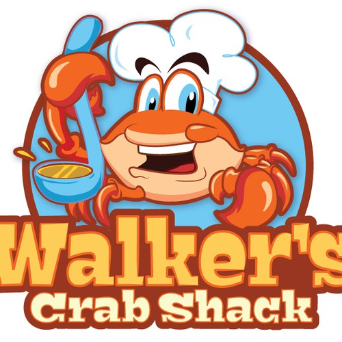 logo for Walker's Crab Shack