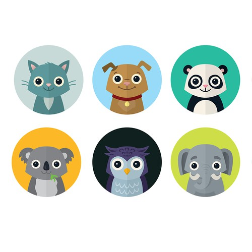 Animal Avatar for Profilepictues of an App