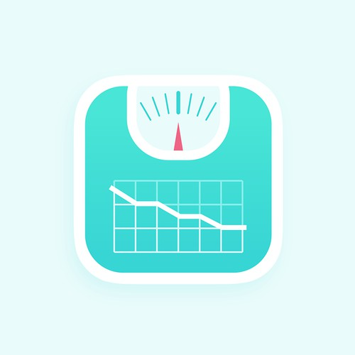 Weight Tracker app icon