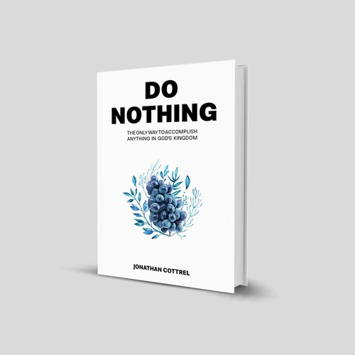Book cover - simple and bold