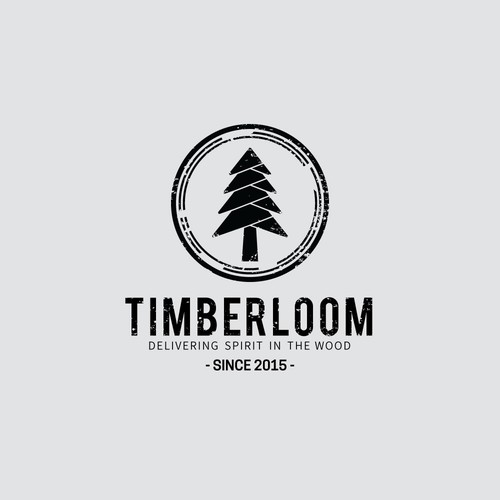 Logo concept for Timberloom