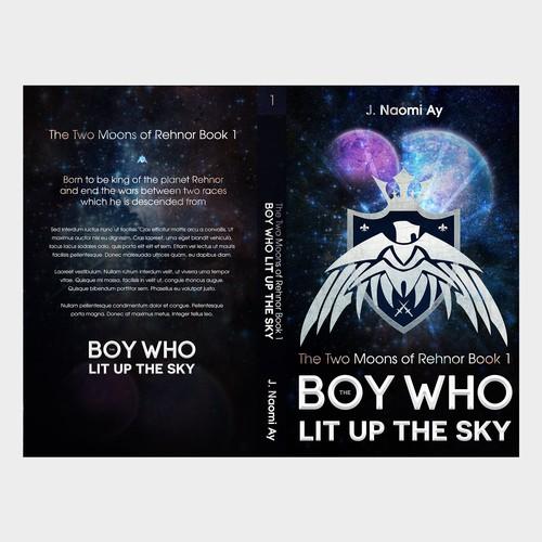 New scifi/fantasy book cover