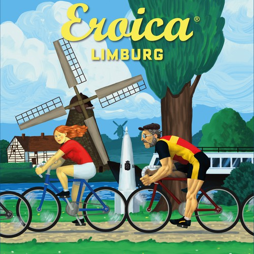 Poster For Cycling Event