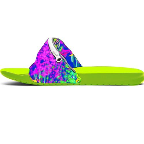 Neon Color Flip Flop