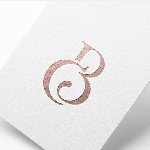 Sophisticated and feminine logo for The Beauty Clinic.