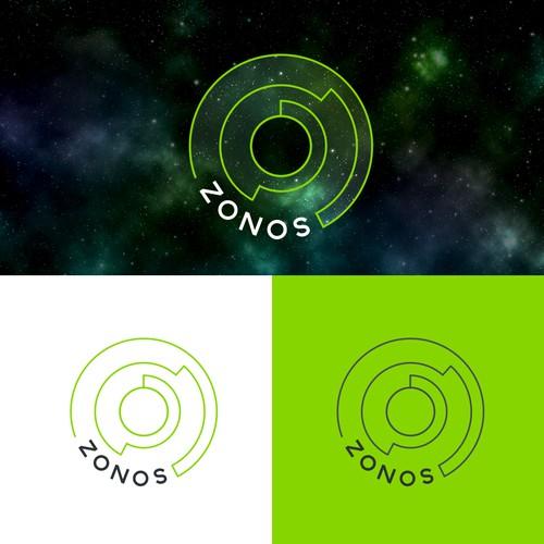 Zonos needs a flying saucer futuristic logo (a Saas company)
